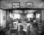 American Woman's League Building showing reception area, Alaska Yukon Pacific Exposition, Seattle,...