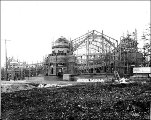 Construction of the Manufactures Building, Alaska-Yukon-Pacific Exposition, Seattle, Washington,...