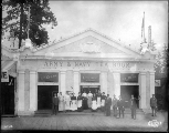 Army & Navy Tea Room , Pay Streak, Alaska Yukon Pacific Exposition, Seattle, 1909.