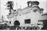 Monitor and Merrimac Exhibit, Pay Streak, Alaska Yukon Pacific Exposition, Seattle, 1909.