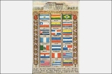 International Union of the American Republics flags, Alaska Yukon Pacific Exposition, Seattle,...