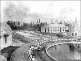Building and Court of Honor construction, Alaska-Yukon-Pacific Exposition, Seattle, Washington,...