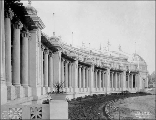Agriculture Building pergolas, Alaska-Yukon-Pacific Exposition, Seattle, Washington, c. 1908