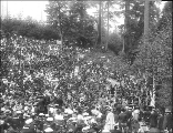 Ground breaking ceremony for the Alaska-Yukon-Pacific Exposition, Seattle, Washington, June 1, 1907