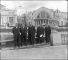 Idaho Commission selecting site for Idaho State Building,  Alaska Yukon Pacific Exposition,...