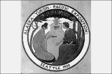 Alaska-Yukon-Pacific Exposition emblem, Seattle, Washington, 1908