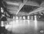 Ballroom in the Washington State Building, Alaska Yukon Pacific Exposition, Seattle, 1909.