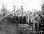 Chehalis County Building ground breaking ceremony, Alaska-Yukon-Pacific Exposition, Seattle,...