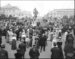George Washington statue unveiling, Alaska Yukon Pacific Exposition, Seattle, June 14, 1909.