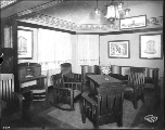 American Woman's League Building showing the sitting area, Alaska Yukon Pacific Exposition,...