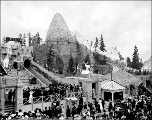 Fairy Gorge Tickler amusement ride, Pay Streak, Alaska Yukon Pacific Exposition, Seattle,...