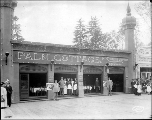 Palm Cottage Cafe, Pay Streak, Alaska Yukon Pacific Exposition, Seattle, 1909.