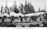 Horse judging at a stock show, Alaska-Yukon-Pacific-Exposition, Seattle, Washington, 1909