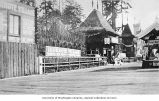 Igorrote Village entrance, Alaska-Yukon-Pacific-Exposition, Seattle, Washington, 1909