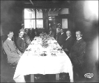 Educators Luncheon including Dr. Frederick Padelford, Alaska Yukon Pacific Exposition, Seattle,...