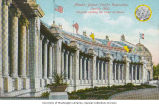 Colonnade on building facing the Court of Honor, Alaska-Yukon-Pacific-Exposition, Seattle,...