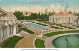 Cascade Court and Geyser Basin, Alaska-Yukon-Pacific-Exposition, Seattle, Washington, 1909