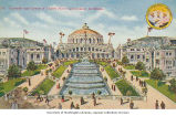 Cascades and United States Government Buildings, Alaska-Yukon-Pacific-Exposition, Seattle,...