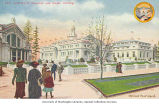 Agriculture, European and Alaska Buildings, Alaska-Yukon-Pacific-Exposition, Seattle, Washington,...