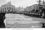Cascades and Government Building, Alaska-Yukon-Pacific-Exposition, Seattle, Washington, 1909