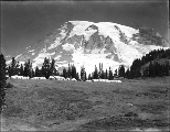 John Reese's hotel tent camp known as Camp of the Clouds, Alta Vista, upper Paradise Valley, Mount...