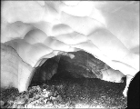 Ice cave in Paradise Glacier, Mount Rainier National Park, Washington, ca. 1907.