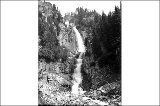 Fairy Falls in Stevens Canyon, Mount Rainier National Park, Washington, ca. 1907.