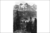 Pinnacle Peak from lower Paradise Valley, Mount Rainier National Park, Washington, ca. 1910.