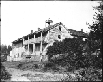 Former site of the Providence School for Young Ladies, Steilacoom, Washington, ca. 1907.