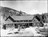 National Park Inn Annex at Longmire, Mount Rainier National Park, Washington, ca. 1917.