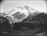 Mount Rainier viewed from Ohop, Washington, 1907.