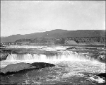 Upper Celilo Falls, Columbia River, Washington, ca. 1913