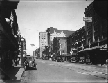 Broadway from 13th St., Tacoma, Washington, ca. 1919.