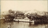 Waterfront in the vicinity of Main St., Seattle, Washington, ca. 1892.