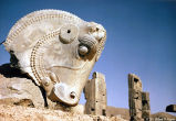 The Great Bull's Head Capital at Persepolis