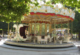 Carousel in Jardin des Tuilleries in Paris