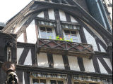 Half-timbered Houses in Rouen