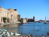 Church of Notre Dame des Anges and Fortress at Collioure
