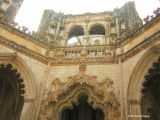 Unfinished Chapel in Batalha Monastery