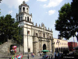 Church of San Juan Bautista in Coyoacan