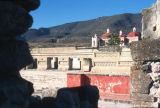 View of Palace and Church at Mitla