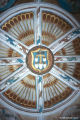 Ceiling in Mission Church at Tecamachalco