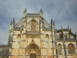 The Facade of Batalha  Monastery