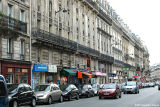 Haussmannian Architecture on the Rue Monge