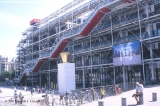 Centre Pompidou, with plaza