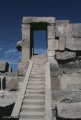 Karnak, stairway and door