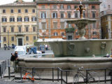 Fountain in Piazza Farnese