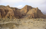 Bamiyan Caves; Rock Facade