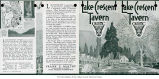 Lake  Crescent Tavern resort advertisement, Clallam County, ca. 1937