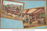 Olympic Hot Springs resort illustrated, Clallam County ; message to Mrs. S. W. Downs, 1911